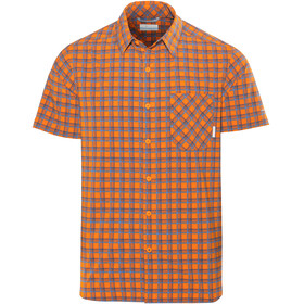 Columbia Triple Canyon SS Shirt Men heatwave plaid